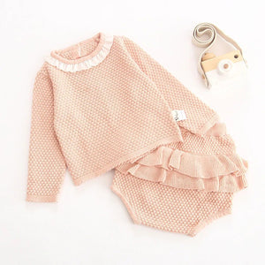 'Ruffle Tops' Baby Girl Outfits