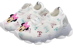 Mickey Minnie Kids Casual Luminating Shoes