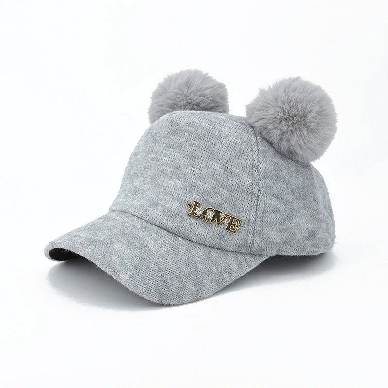 Warm Winter Baby Baseball Hat