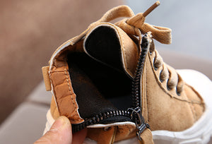 Winter Casual Toddler Martin Boots