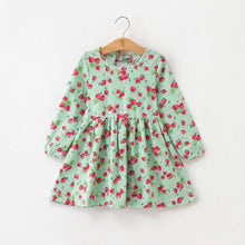 Load image into Gallery viewer, Princess Cotton Plaid Dress