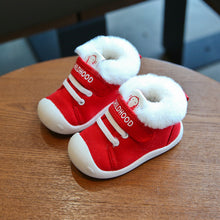 Load image into Gallery viewer, 'Fluffy' Winter Non-Slip Toddler Baby Shoes