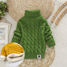 Load image into Gallery viewer, 'Comfortable' Turtleneck Winter Baby Sweater