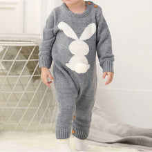 Load image into Gallery viewer, 'Epicene' Overall Long Sleeve Baby Romper Set