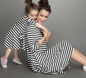 'BFF' Matching Mommy / Daughter Dresses