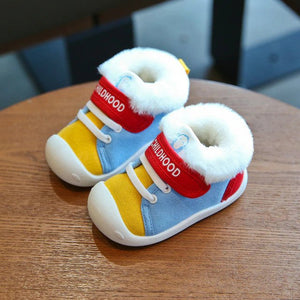 'Fluffy' Winter Non-Slip Toddler Baby Shoes