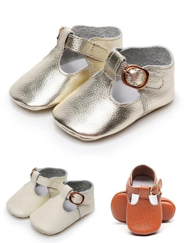 'Classy' Mary Jane Baby Leather Shoes