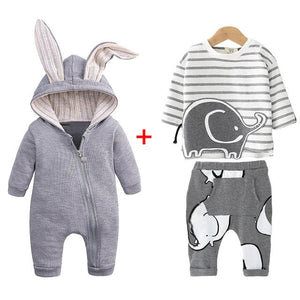 Baby's Winter Clothing Set