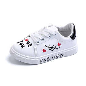 Love Note Graffiti Baby Sneaker