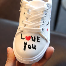 Load image into Gallery viewer, Love Note Graffiti Baby Sneaker