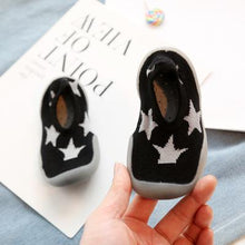 Load image into Gallery viewer, Shallow Printed Canvas First Walker Baby Shoes