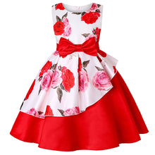 Load image into Gallery viewer, Princess Toddler Pretty Flower Christmas Party Costume