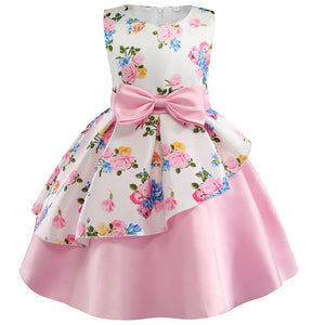 Princess Toddler Pretty Flower Christmas Party Costume