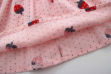 Load image into Gallery viewer, 'Cherry Print' Summer Baby  Girl Dresses