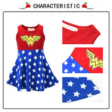 Load image into Gallery viewer, Wonder Girl Christmas Cosplay Dress