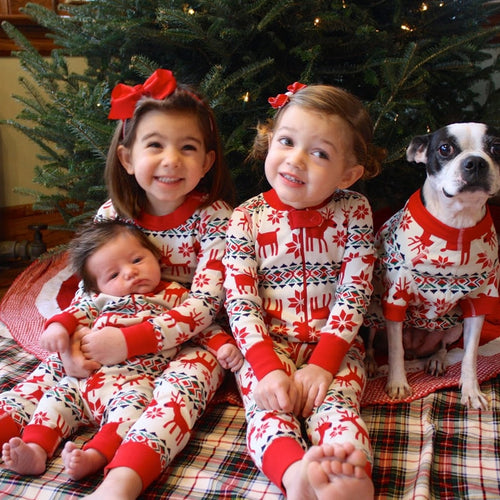 Parents-Child Matching Sweater Christmas Costumes
