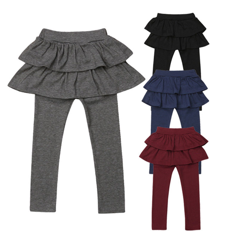 'Culottes' Skirt Leggings Baby Girl Outfits