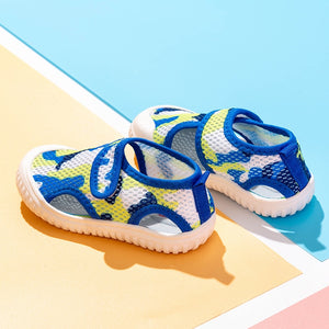 'Beach Play' Mesh Summer Sandals