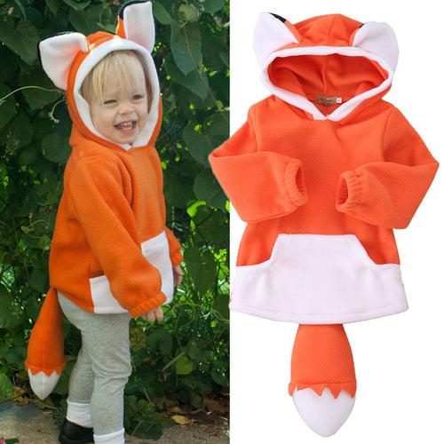 'Cozy Fox' Ear & Tail  Hoodie