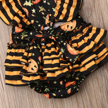 Load image into Gallery viewer, 'Punkin' Halloween Romper