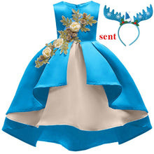 Load image into Gallery viewer, Christmas Fashion Embroidered Princess Wedding Outfit