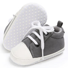 Load image into Gallery viewer, Toddler Canvas Crib Sneaker Shoes