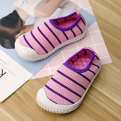 Kid's Square Toe Breathable Casual Shoes