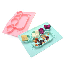 Load image into Gallery viewer, Anti-Slip 3-Piece Silicone Place Set