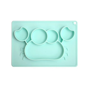 Anti-Slip 3-Piece Silicone Place Set