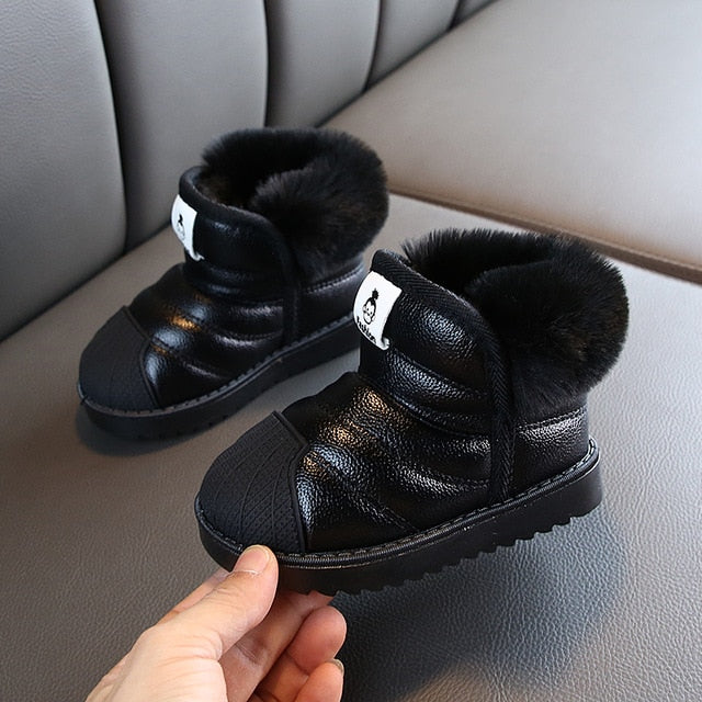 Warm Plush Waterproof Snow Boots