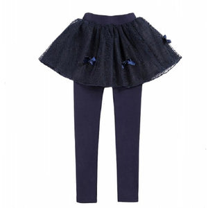 Cute Baby Girl Outfits Ruffles Skirt Leggings