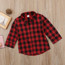 Load image into Gallery viewer, 'Kick It With Mom' Toddler Flannel Shirt