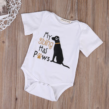Load image into Gallery viewer, Paws Baby Onesie