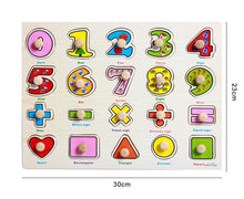 Load image into Gallery viewer, Baby Educational Wooden Toys