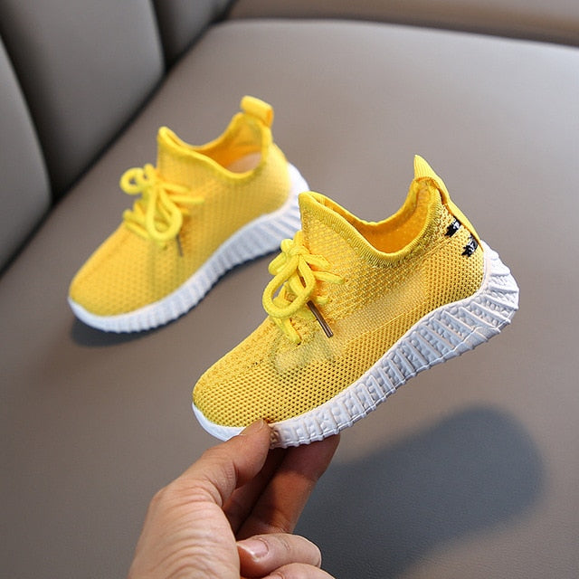 Breathable Mesh Comfort toddler running sneakers