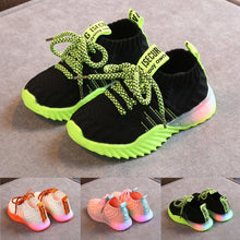 Load image into Gallery viewer, 'Luminous' Toddler Mesh Comfort sport Sneakers