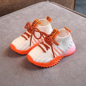 'Luminous' Toddler Mesh Comfort sport Sneakers