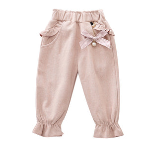 'Janet' Baby Girl Casual Ruffle Pants