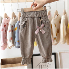 Load image into Gallery viewer, 'Janet' Baby Girl Casual Ruffle Pants