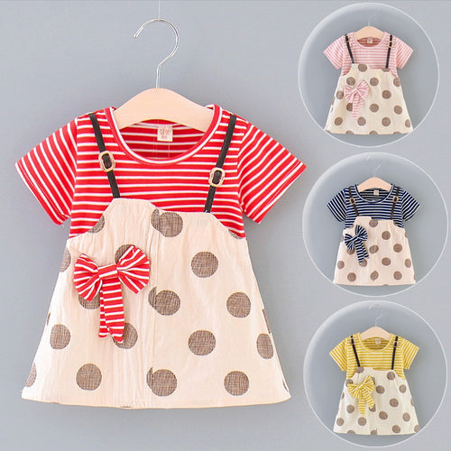 Baby 'Robin' Ribbon Dress