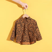 Load image into Gallery viewer, Toddler 'Wildcat' Button Up Blouse