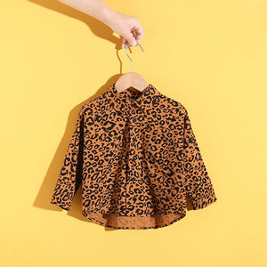 Toddler 'Wildcat' Button Up Blouse
