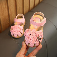 Load image into Gallery viewer, Comfortable Toddler Girls Summer Sandals