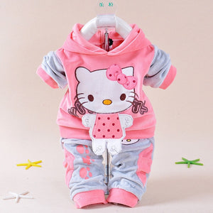 Winter Baby Girls Casual Tracksuits