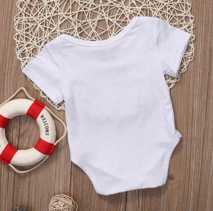 """Of Course I'm Cute Look At My Daddy"" Baby Romper"