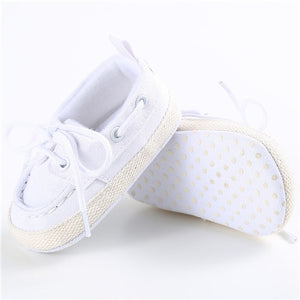 First Walker Soft Soled Baby Canvas