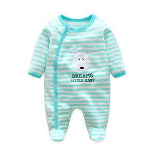 Christmas Newborn Polar Fleece Rompers