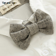 Load image into Gallery viewer, 'Elliott' Sunday Short Sleeve Suspender Bowtie Set
