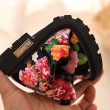 Load image into Gallery viewer, Trendy Baby Girl Floral Martin Boots for Christmas