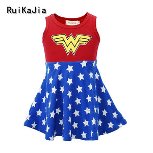 Wonder Girl Christmas Cosplay Dress